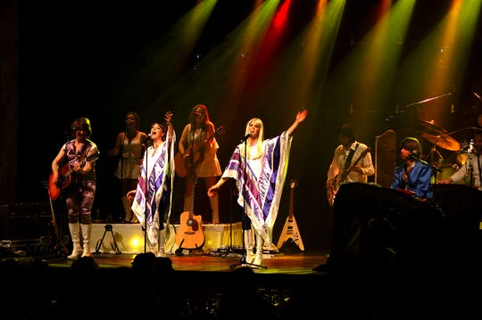 The QuickChek New Jersey Festival of Ballooning in association with PNC Bank presents ABBA The Concert, at 8 p.m. on Friday, July 26.
