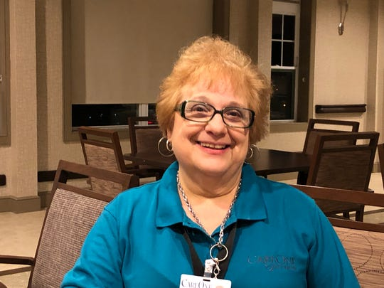 Anna Arcuri-Abbey of South Bound Brook has been a caregiver for 25 years, first for her parents and in-laws, and now at a facility in Bridgewater.