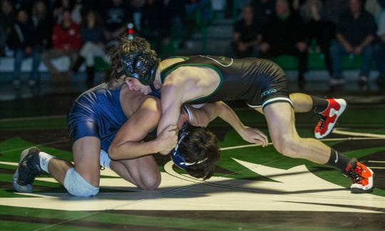 Jake DelVecchio leads South Plainfield into the 40th annual Virginia Duals