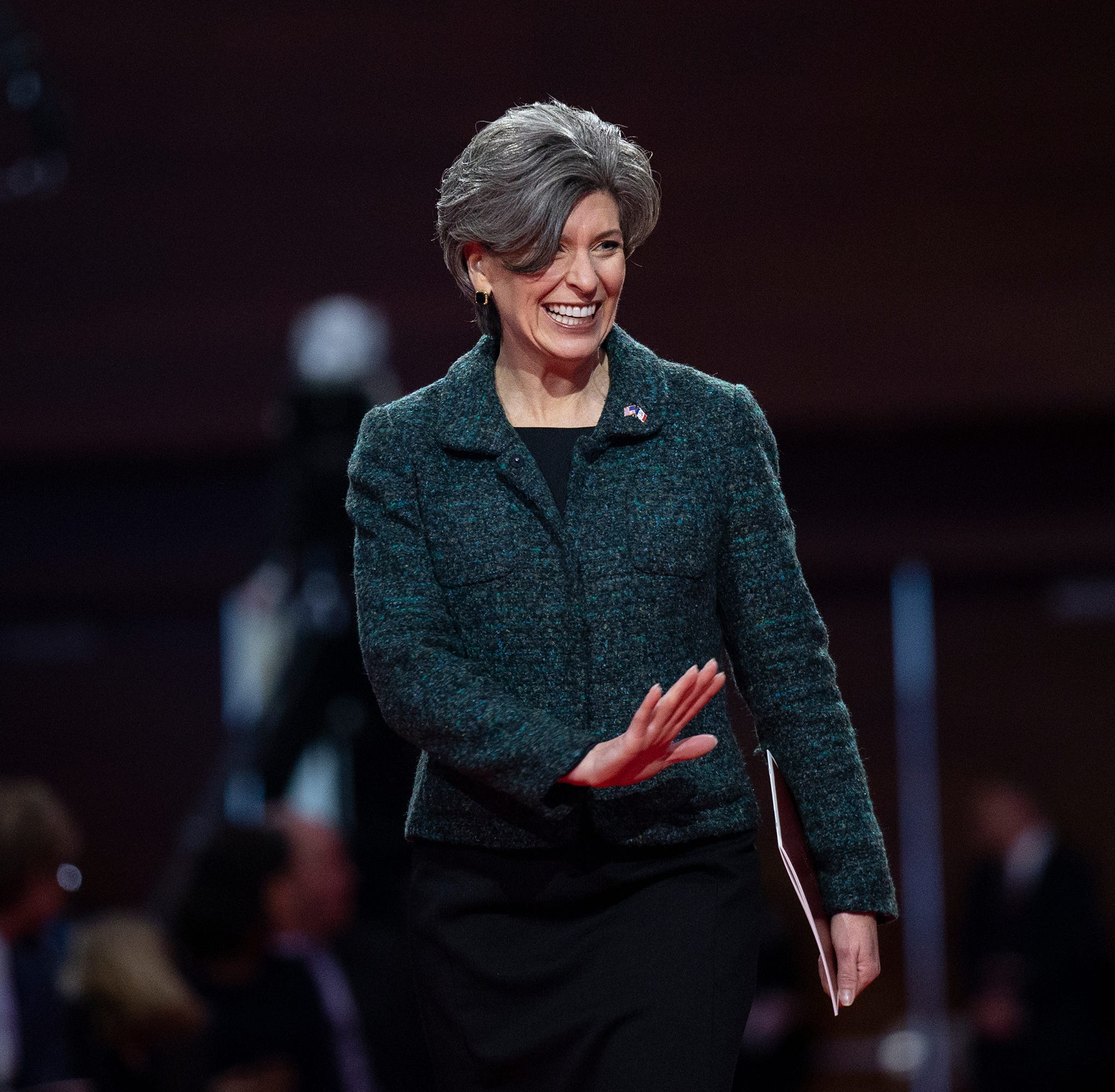 Sen. Joni Ernst introduces plans for paid family leave through retirement deferral
