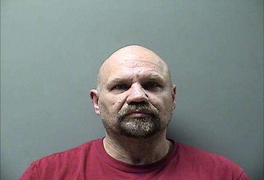 Douglas David Horn, 56, shown in his Wapello County mugshot.