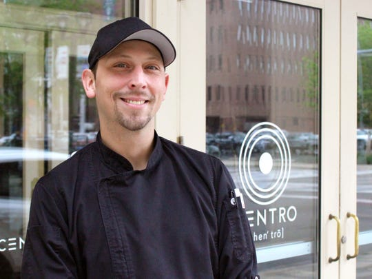 Jonathan Baker, 37, executive chef of Centro.
