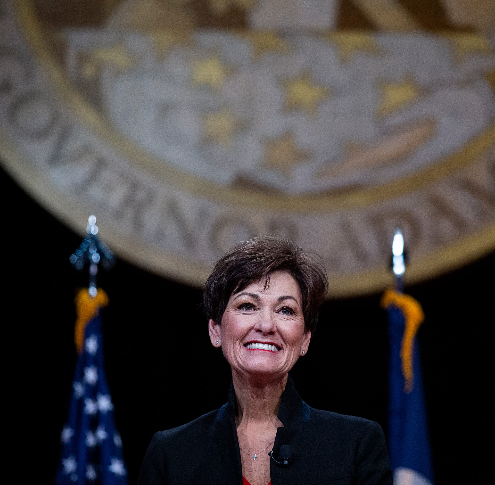 Gov. Kim Reynolds gives her Inaugural Address...