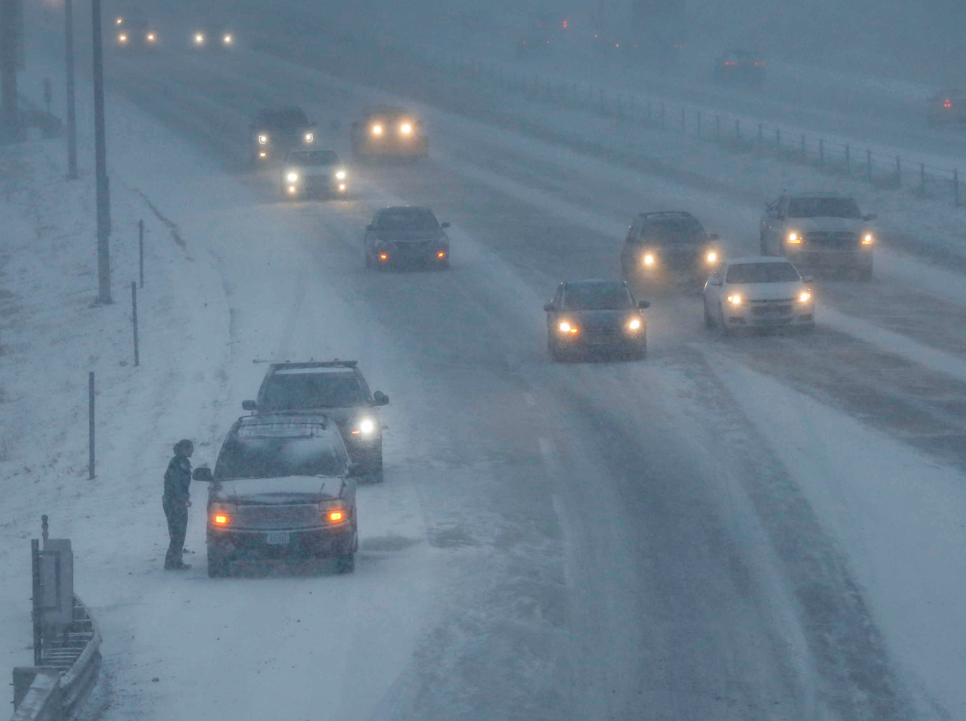 Iowa weather: How much snow has fallen statewide and what you can expect this weekend