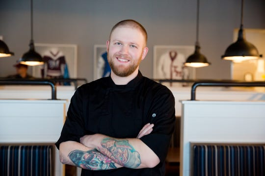 Zach Gaskell, 32, executive chef of Teddy Maroon's.
