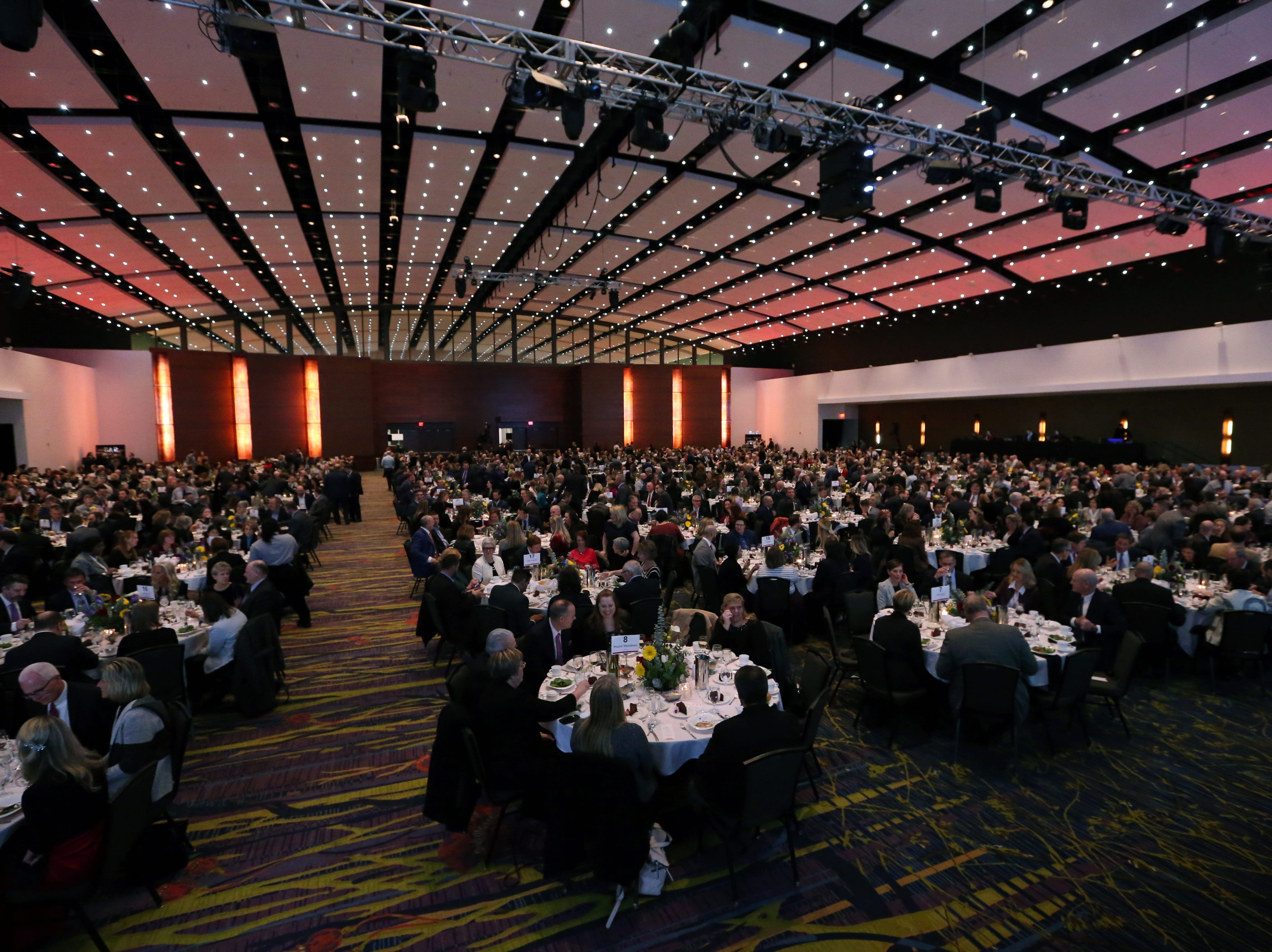 Scenes from the at the Partnership's Annual Dinner on January 17, 2019 at the Iowa Events Center.