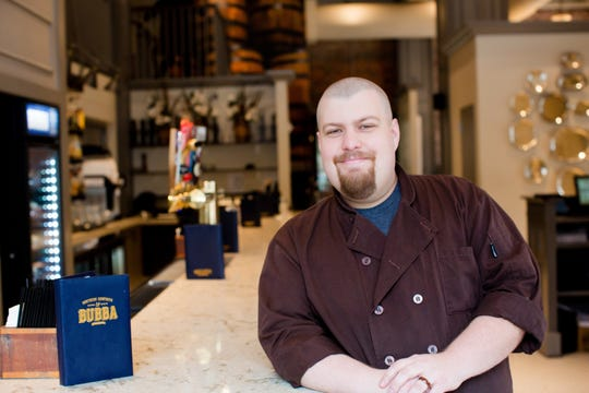 Jesse Bryant, 34, executive chef of Bubba.