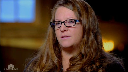 Jamie Hess, sister of convicted murderer  Doug Stewart, is interviewed on 'Dateline NBC' episode 'Finding Venus' that airs January 20, 2019.
