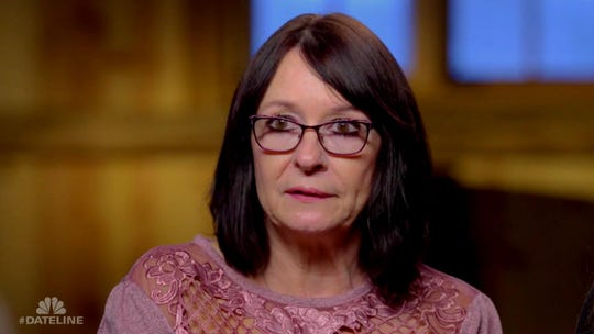 Therese McComb, mother of Venus Stewart, whose murder in Michigan is the subject of a 'Dateline NBC' episode airing January 20, 2019.