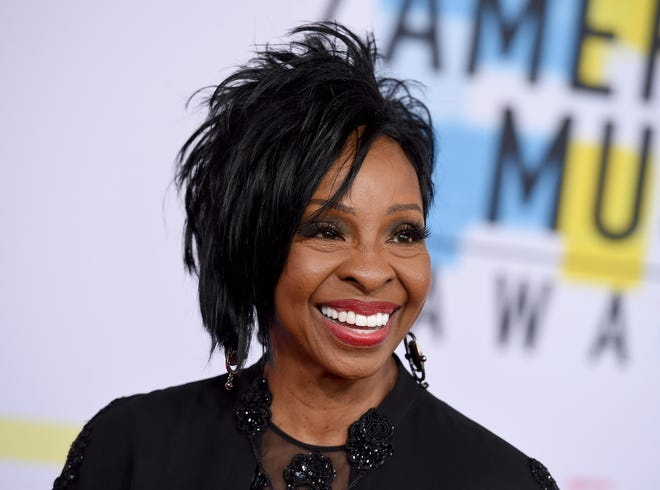 "Gladys Knight arrives at the American Music Awards at the Microsoft Theater in Los Angeles on Oct. 9, 2018. The seven-time Grammy winner will sing ""The Star-Spangled Banner"" at this year's Super Bowl, Sunday, Feb. 3, 2019."