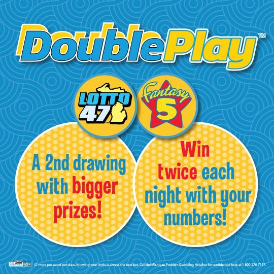 Double Play is a new option for Lotto 47 and Fantasy 5