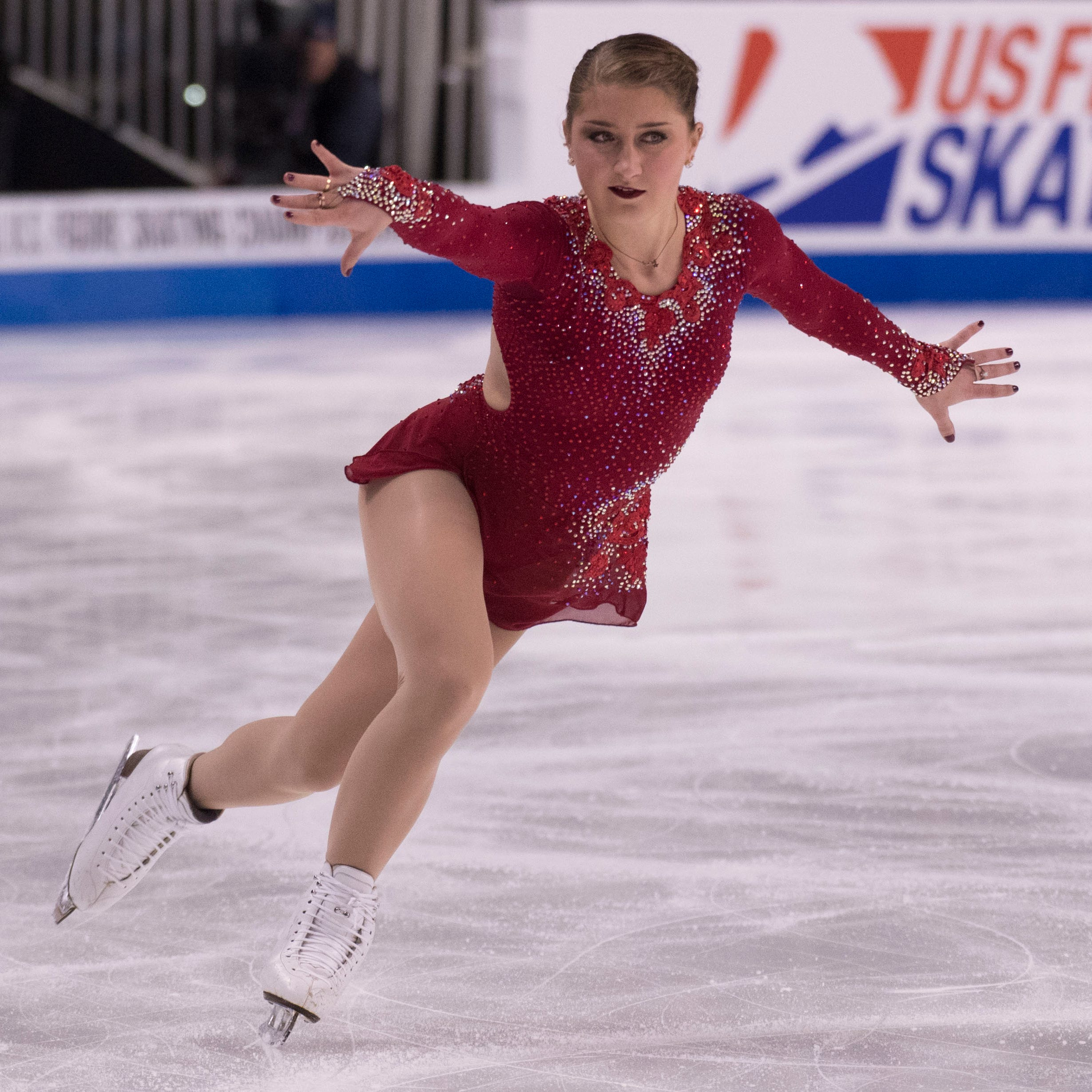 Hannah Miller on figure skating and the struggle to be thin enough