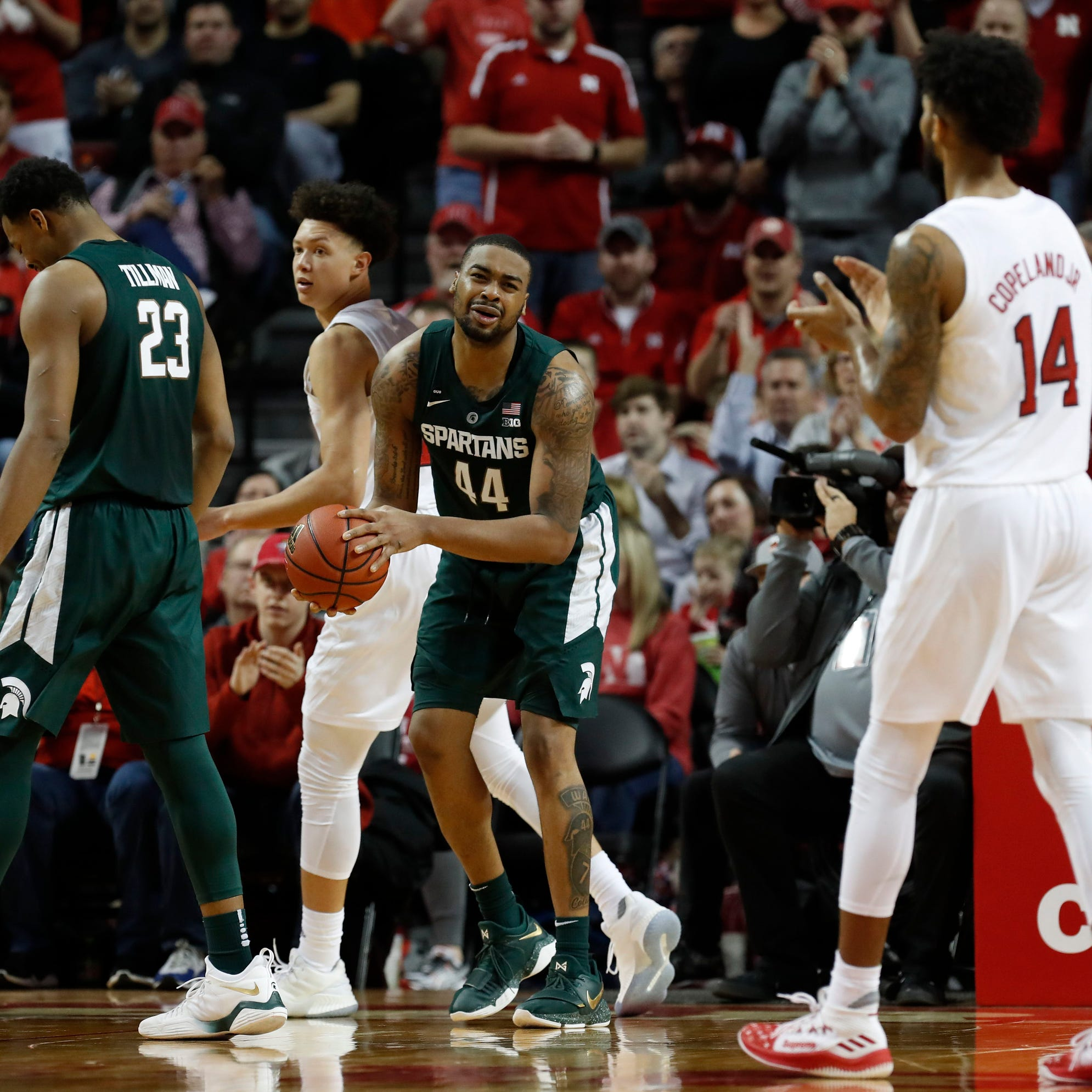 First-place Michigan State faces another tough test: No. 19 Maryland