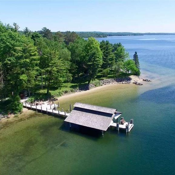 MI Dream Home: $7M log home 'up north retreat'