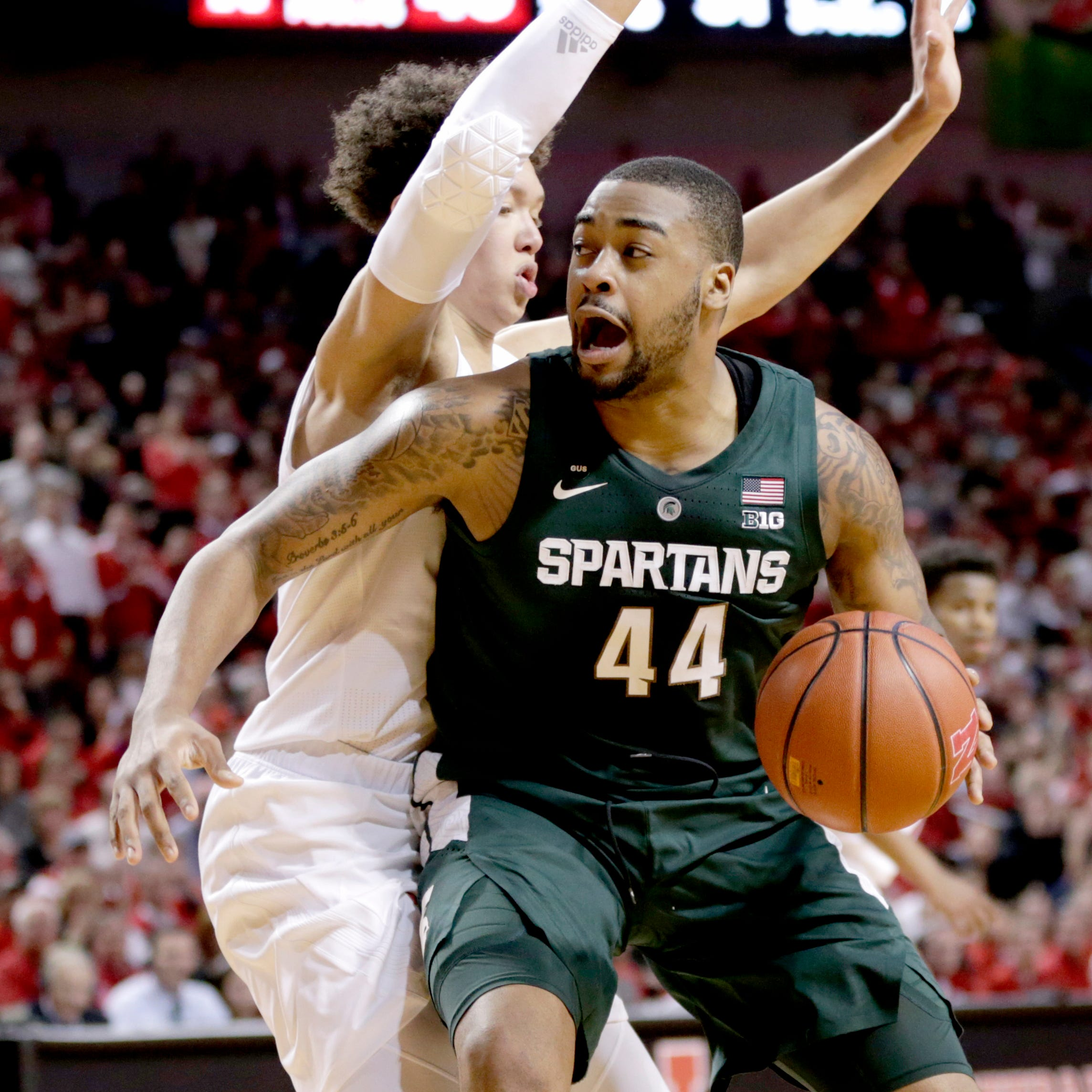 Nick Ward rates a perfect 1 for Michigan State