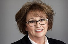 Sue Hillebrand announced her retirement Thursday at a board of trustees meeting.
