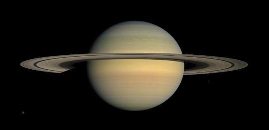 Saturn's primary rings appear to be 10 million to 100 million years old.