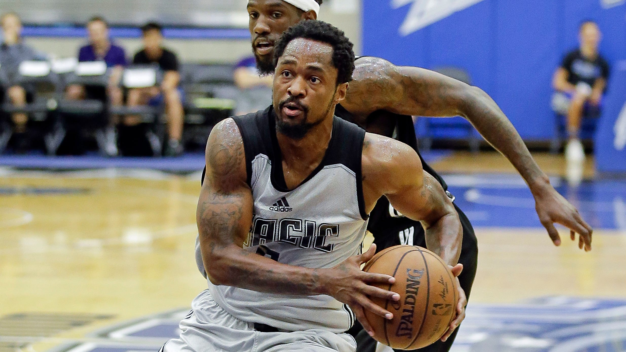 Former Michigan State star Kalin Lucas' professional basketball journey has taken him to Greece, Turkey, Memphis and multiple stops in the NBA's development league. He's with the Grand Rapids Drive now, on a two-way contract with the Pistons.