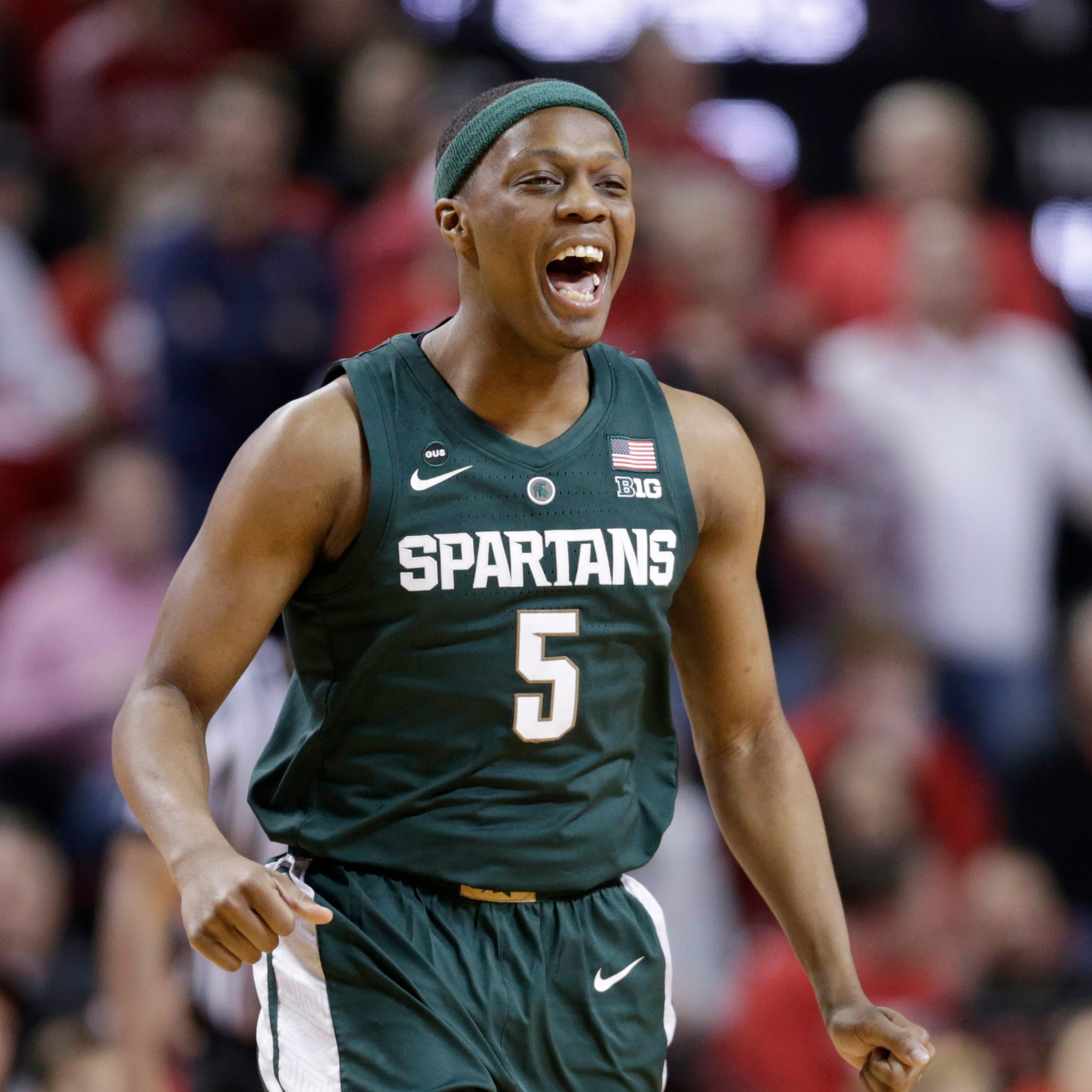 Cassius Winston bounces back big-time, carries Michigan State past Nebraska