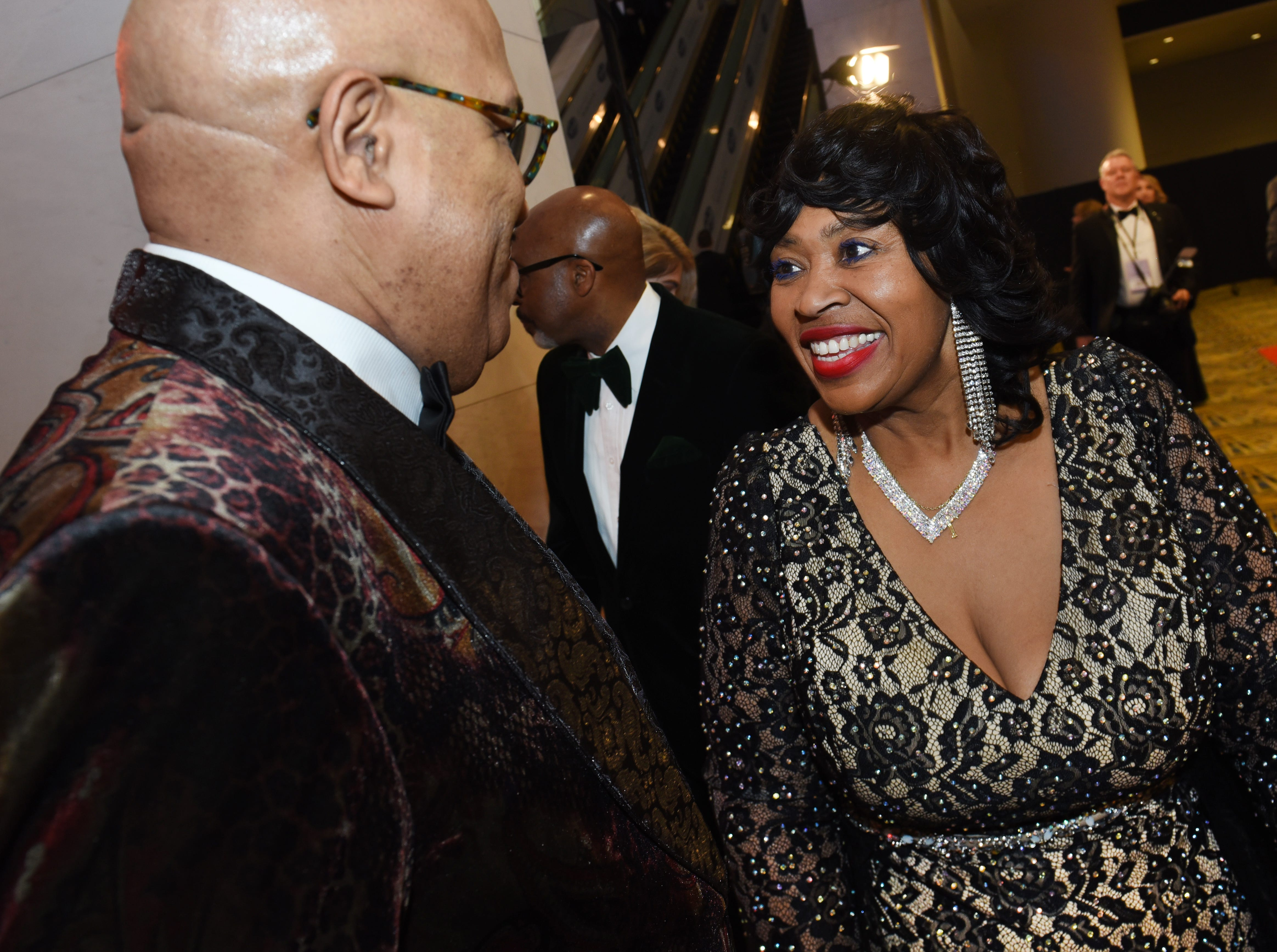Detroit City Council President Brenda Jones attends the Charity Preview gala.