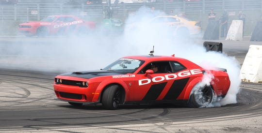 The supercharged V-8 Dodge Challenger Hellcat is the No. 2-selling sports coupe in the U.S. behind the Ford Mustang.