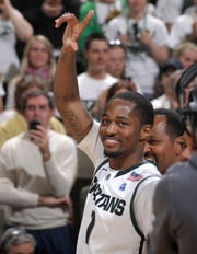 Kalin Lucas helped Michigan State reach the NCAA title game in 2009, and was the Big Ten Player of the Year.