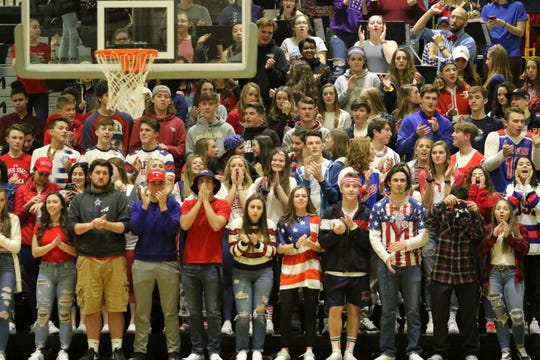 Elmira was a 65-46 winner over Corning in boys basketball Jan. 17, 2019 at Corning-Painted Post High School.