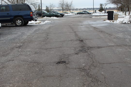 Terra State Community College has committed almost $700,000 to parking lot repairs and repaving of its campus loop road. Those projects are scheduled for completion by early August.