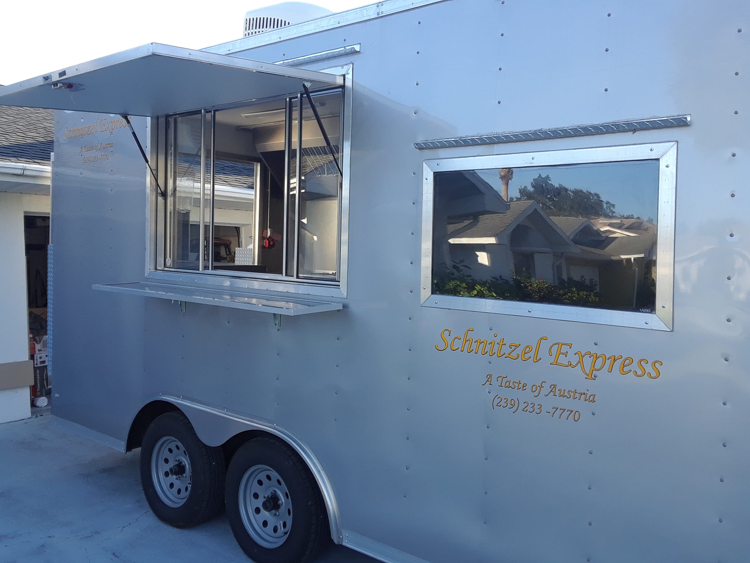 """Helmut Heiss sold Austrian-German Restaurant to open the Schnitzel Express food truck. Heiss called the move a """"survival strategy."""""""