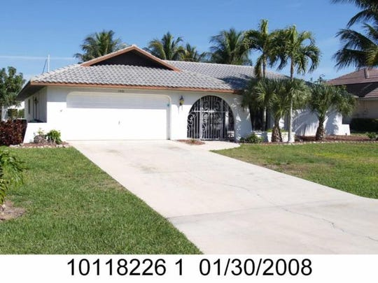 This home at 1501 SW 58th St., Cape Coral, recently sold for $500,000.