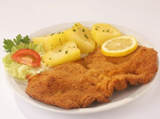 Wiener schnitzel is among the dishes served at the new Schnitzel Express food truck.