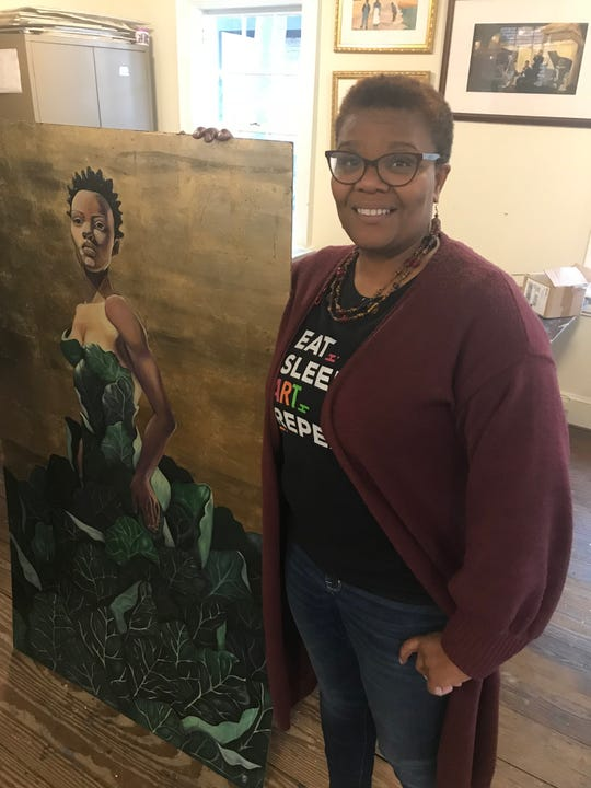 Natalie Daise, who starred in the 90s Nickelodeon show Gullah Gullah Island, now paints and gives tours in Georgetown, S.C.