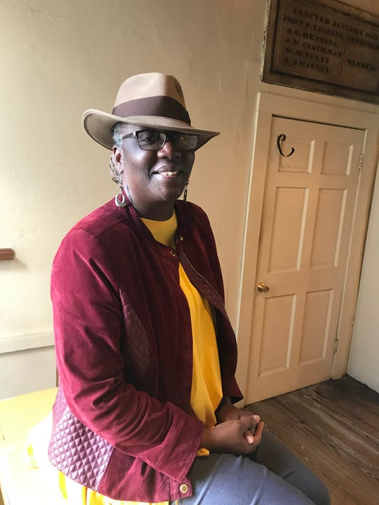 Zenobia Harper, founder of Gullah Preservation Society of Georgetown, inside the second-floor Rice Museum in Georgetown, South Carolina.