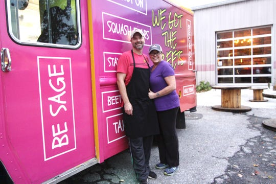 Sandy and Eric Edmondson, owners of We Got the Beets food truck, plan to change the way people think of vegan food.