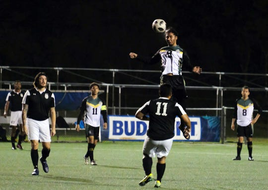 The University of Guam routed the Pago Bay Disasters 11-2 Jan. 17 in a GFA Amateur Men's League match.