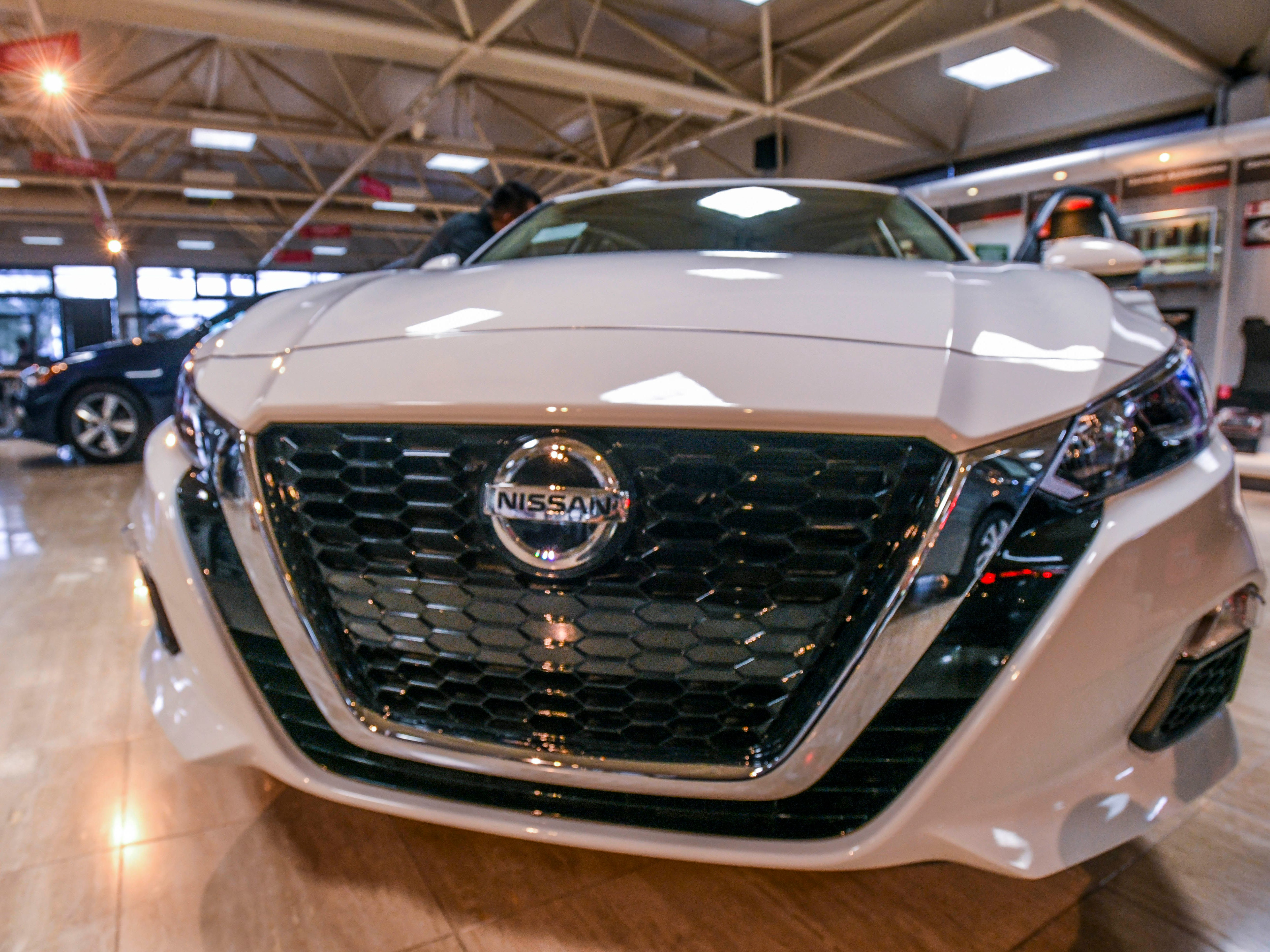 Nissan Guam showcased the latest features added to the redesigned 2019 Nissan Altima after the vehicle's arrival to its Nissan Showroom in upper Tumon on Friday, Jan. 18, 2019.
