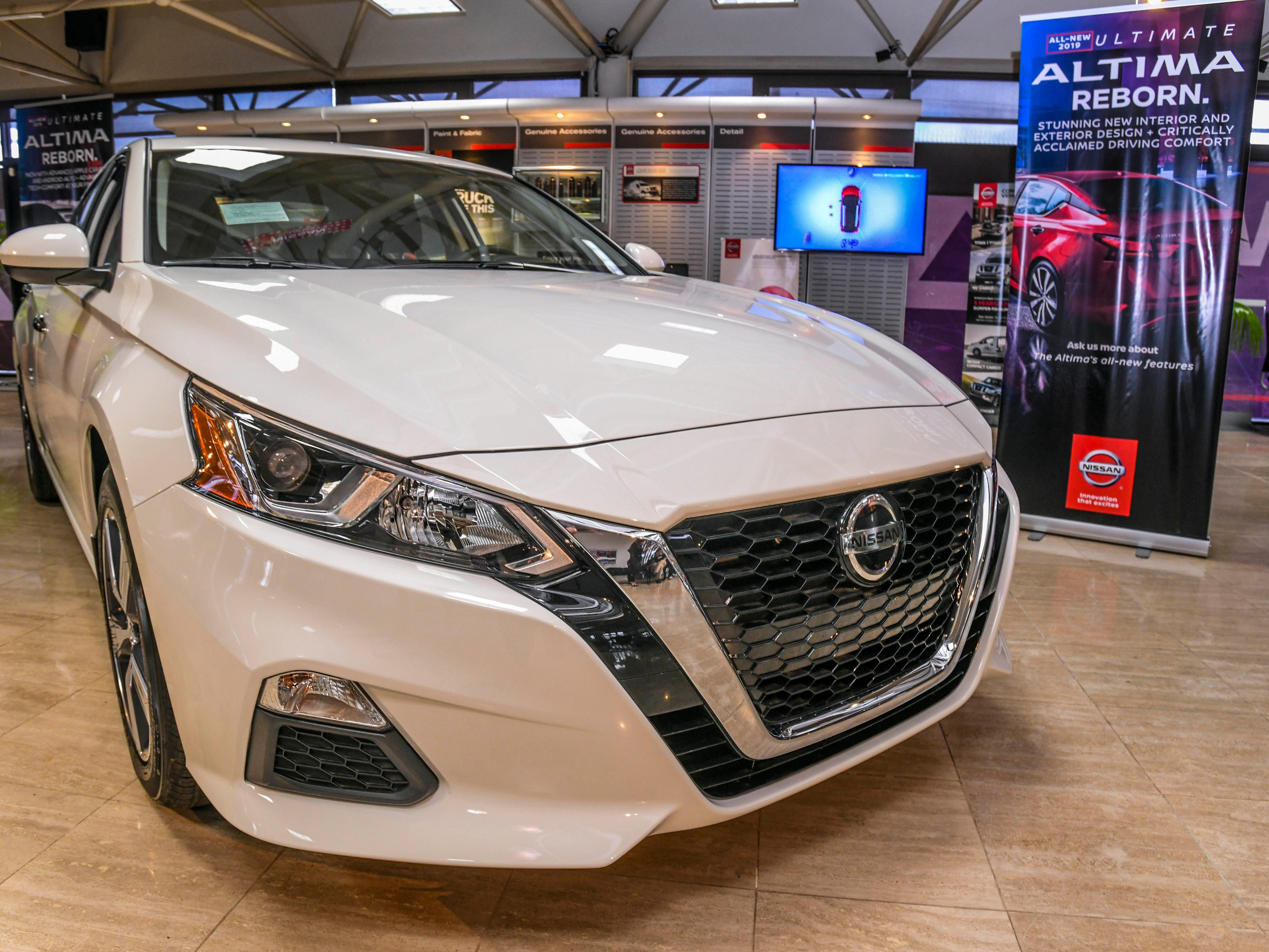Nissan Guam showcased the latest features added to the redesigned 2019 Nissan Altima after the vehicle's arrival to its Nissan Showroom in upper Tumon on Friday, Jan. 18, 2019. According to Nissan, the vehicle offers an advanced suite of technology and safety features, enhanced driving performance with all-wheel drive and two engine options, including the world's first production-ready Variable Compression Turbo engine. For more images and a video of the vehicle, log on to GuamPDN.com.