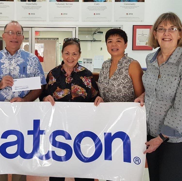 Matson donates $20K to Super Typhoon Yutu relief efforts