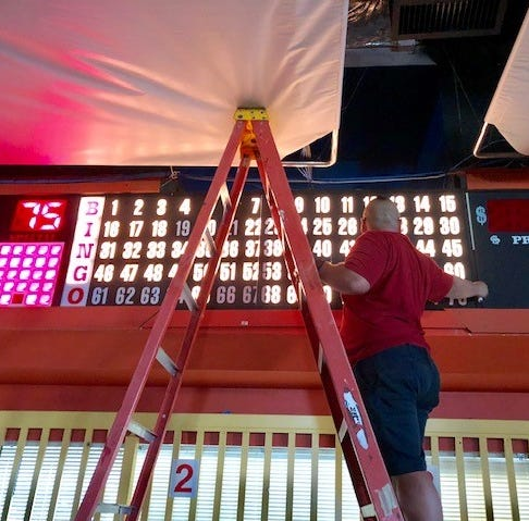 Bingo operating without permit, others are temporarily closed