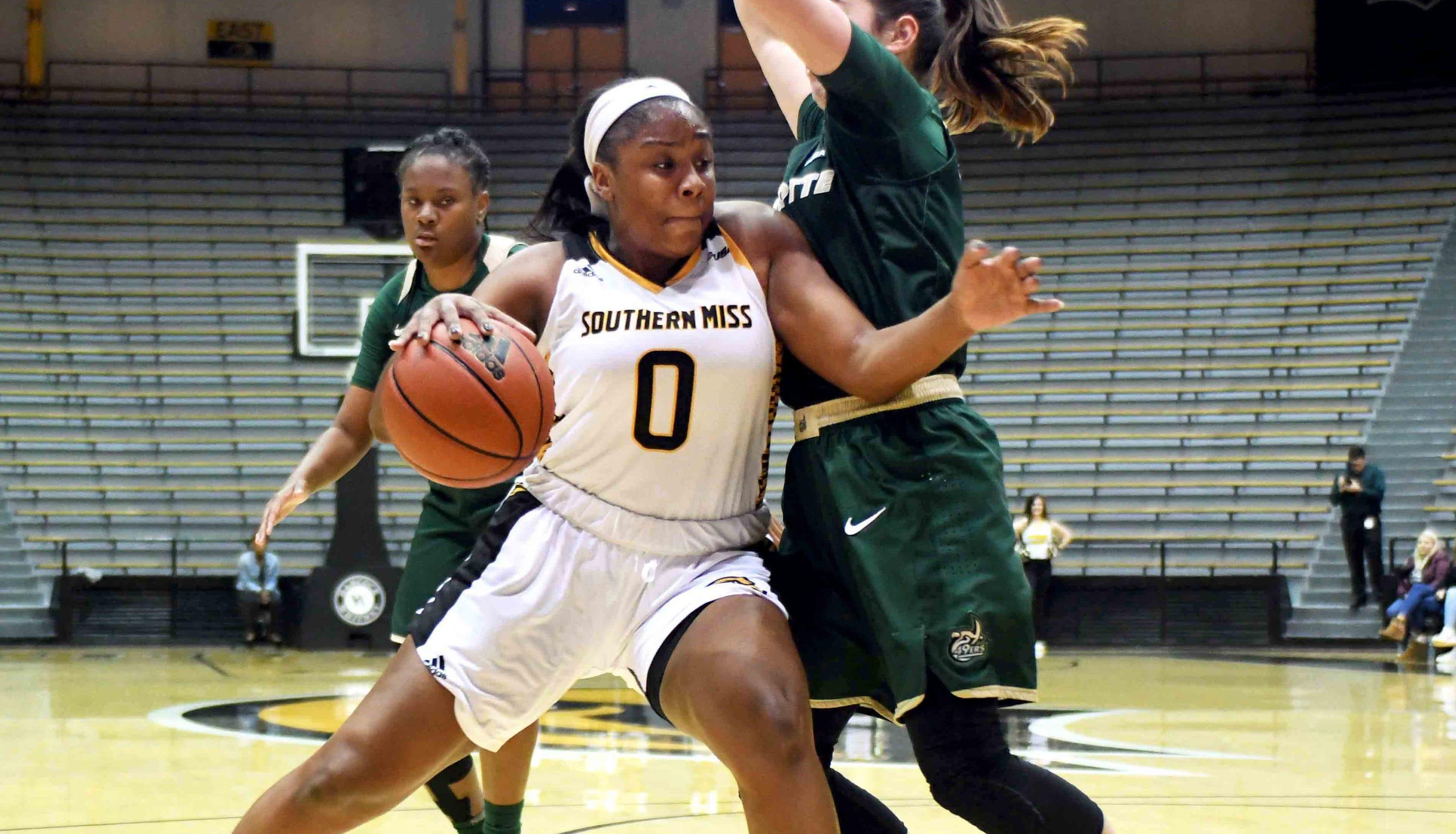 Southern Miss women's basketball vs. Charlotte