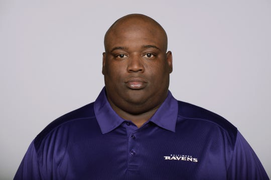Former Baltimore Ravens running backs coach Thomas Hammock was named head coach of the Northern Illinois Huskies.