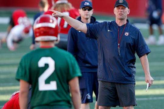 Kalen DeBoer just finished his second season as Fresno State's offensive coordinator.