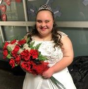 Bailey Halloran was crowned 2019 winter homecoming queen for Terre Haute South Vigo High School.