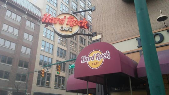 The downtown Indianapolis Hard Rock Café is closing March 18, 2019.