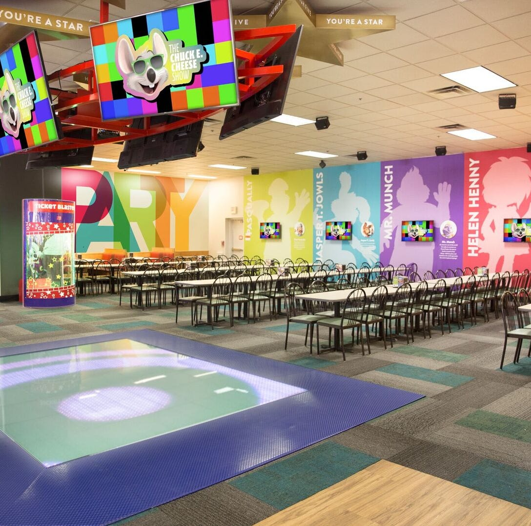 Castleton Chuck E. Cheese's reopens as one of nation's first new-look locations