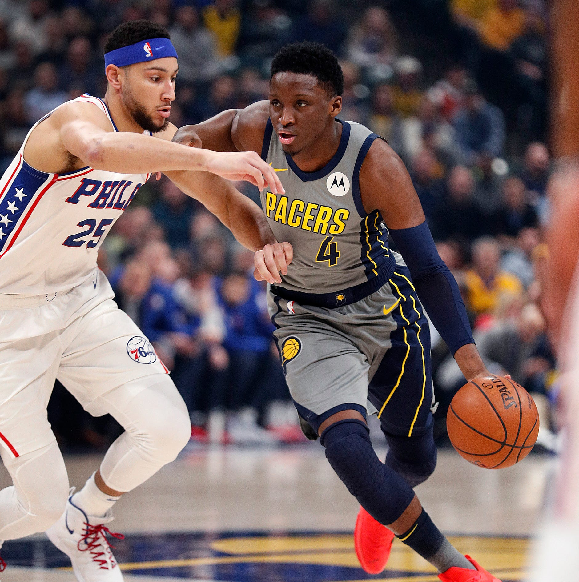 Victor Oladipo after disappointing loss to Sixers: 'If I'm injured I wouldn't be playing'