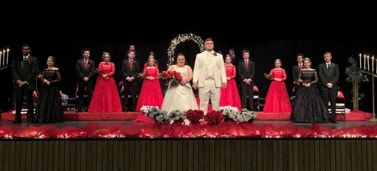 Bailey Halloran was elected 2019 winter homecoming queen at Terre Haute South Vigo High School in Indiana, and the first with special needs to win at the school.