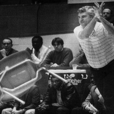 Bobby Knight sale at Purdue: Fans toss $1 for surplus chairs before Purdue-IU tipoff