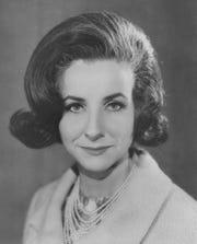 Faith Levitt from WISH-TV promo image in 1965