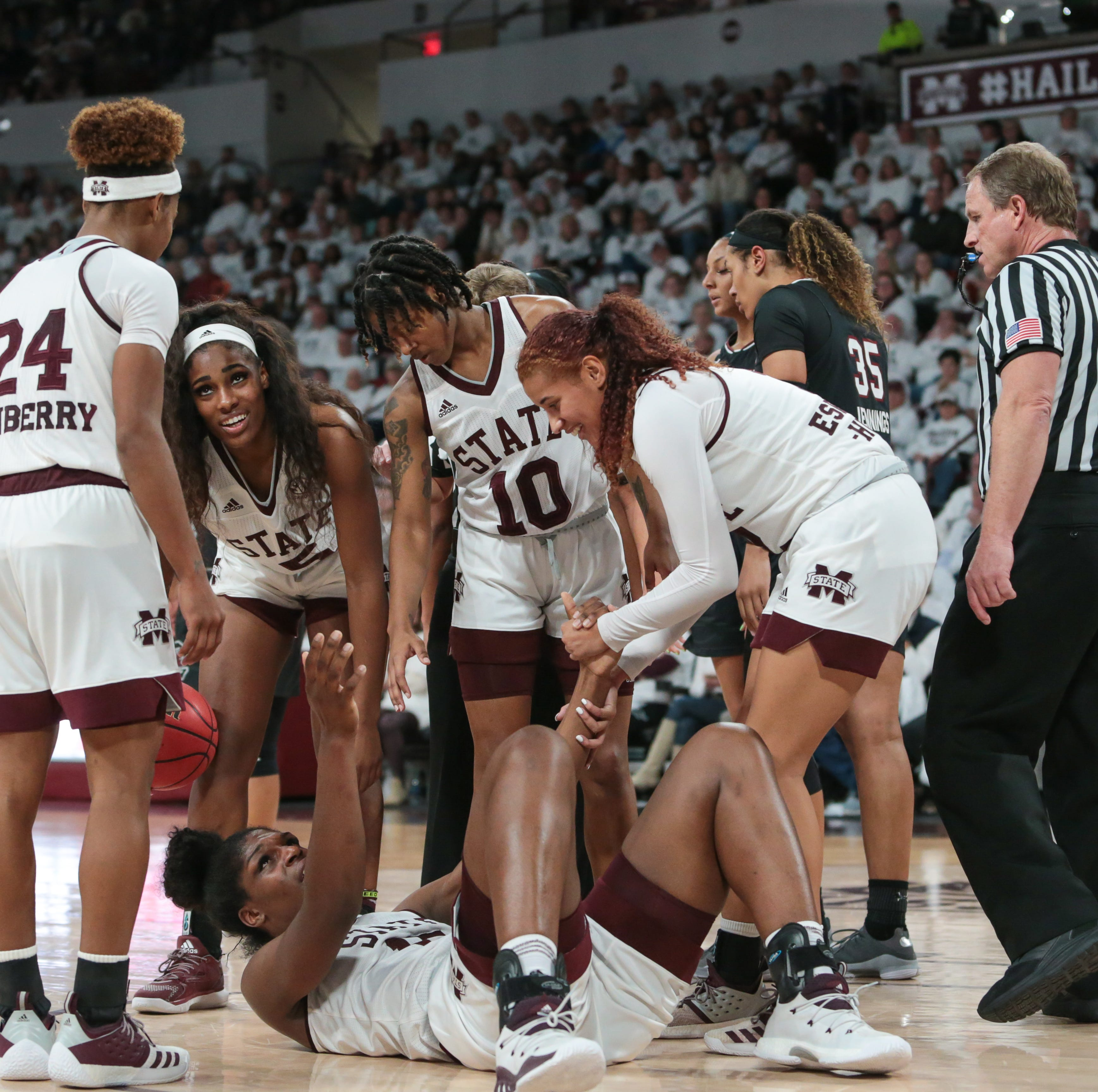 What South Carolina coach Dawn Staley said about Teaira McCowan, Mississippi State